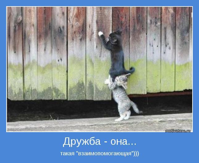 """такая """"взаимопомогающая"""")))"""