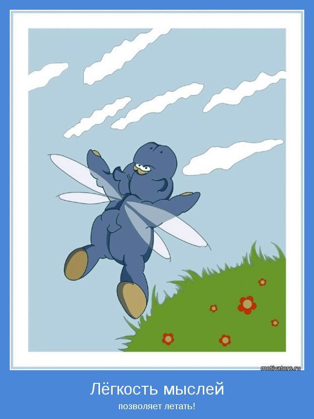 позволяет летать!
