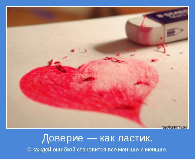С каждой ошибкой становится все меньше и меньше.