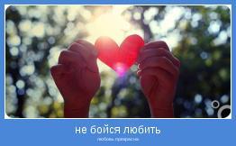любовь прекрасна