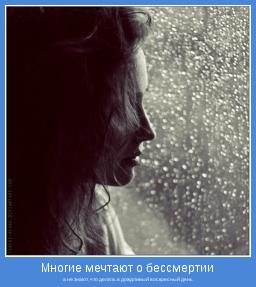 а не знают, что делать в дождливый воскресный день
