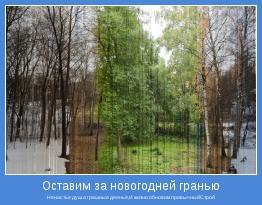 Ненастье душ и грешные деянья,И жизни обновим привычныйСтрой
