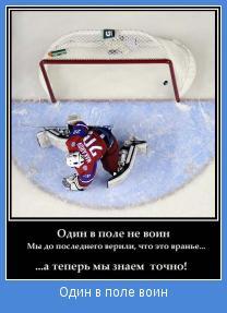 Про хоккей это вам не демотиваторы
