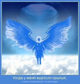 я познал, что свод небесный - это уже не предел.