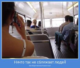 как общественный транспорт