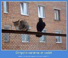 Может, ты ему уже надоел и он хочет домой? :)