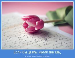 их поэмы были бы лишь о любви...