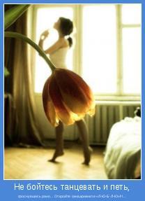 проснувшись рано... Откройте окна,крикните «Л-Ю-Б-Л-Ю»!!!...