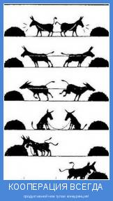 продуктивней чем тупая конкуренция!