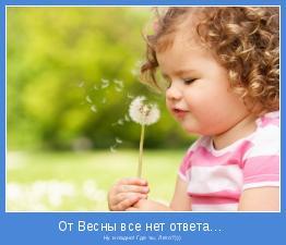 Ну и ладно! Где ты, Лето?)))