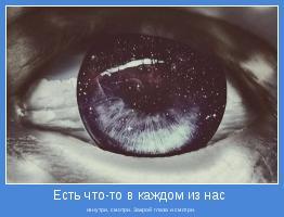 изнутри, смотри. Закрой глаза и смотри.