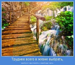 какой мост надо перейти, а какой надо сжечь.