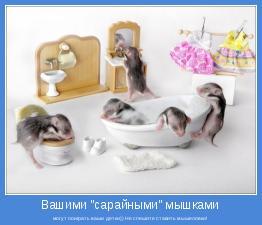 могут поиграть ваши детки)) Не спешите ставить мышеловки!