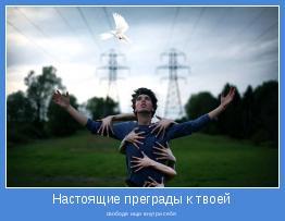свободе ищи внутри себя