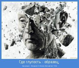 там разум - безумие © Иоганн Вольфганг Гёте