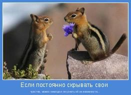 чувства, можно никогда и не узнать об их взаимности...