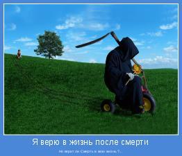 Но верит ли Смерть в мою жизнь ?...