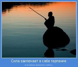 ...В нетерпении проявляется слабость...