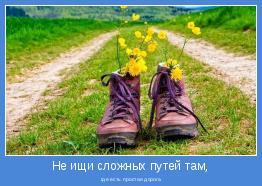 где есть простая дорога