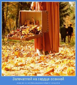 сказки миг и в сентябре дождливом поймай от солнца блик