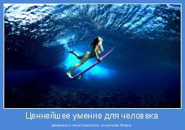 уверенно и легко скользить по волнам Жизни