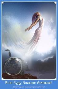 Страх падения никогда не даст взлететь!