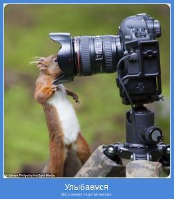 Вас снимает скрытая камера