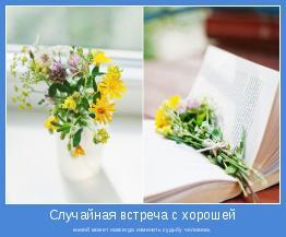книгой может навсегда изменить судьбу человека.