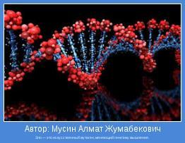 Зло — это искусственный мутаген, меняющий генетику мышления.