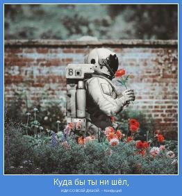 ИДИ СО ВСЕЙ ДУШОЙ.  ~ Конфуций